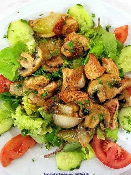 Salat Putenbrust