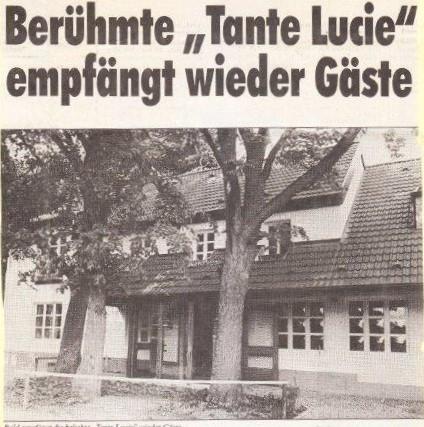 """Restaurant """"Tante Lucie"""""""
