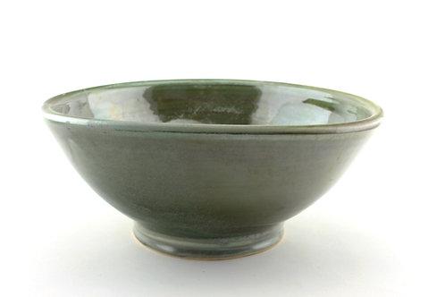 Large Green Serving Bowl / Fruit Bowl