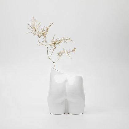 Bloomin' Bum Vase White