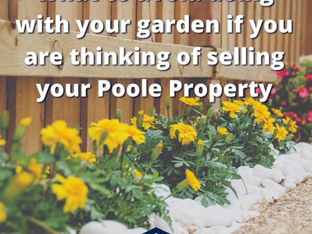 What to AVOID doing with your garden if you are thinking of selling your property in Poole .