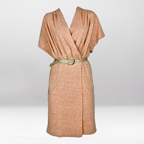 Robe croisée en jersey  MALIBU