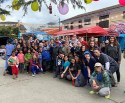 Community in Cusco Thanking MEDLIFE