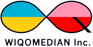 youtube企業公式チャンネルのコンサル・プロデュース・運用代行を行う映像制作会社WIQOMEDIANのロゴ画像
