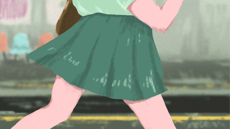 おぼえたてスカート