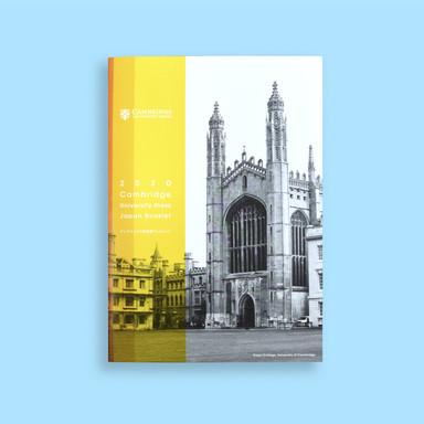 ケンブリッジ大学出版ブックレット2020