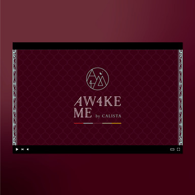 CALISTA AW4KE ME VIDEO YouTubeチャンネル