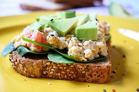 Quick & Easy Chickpea Salad Sandwich
