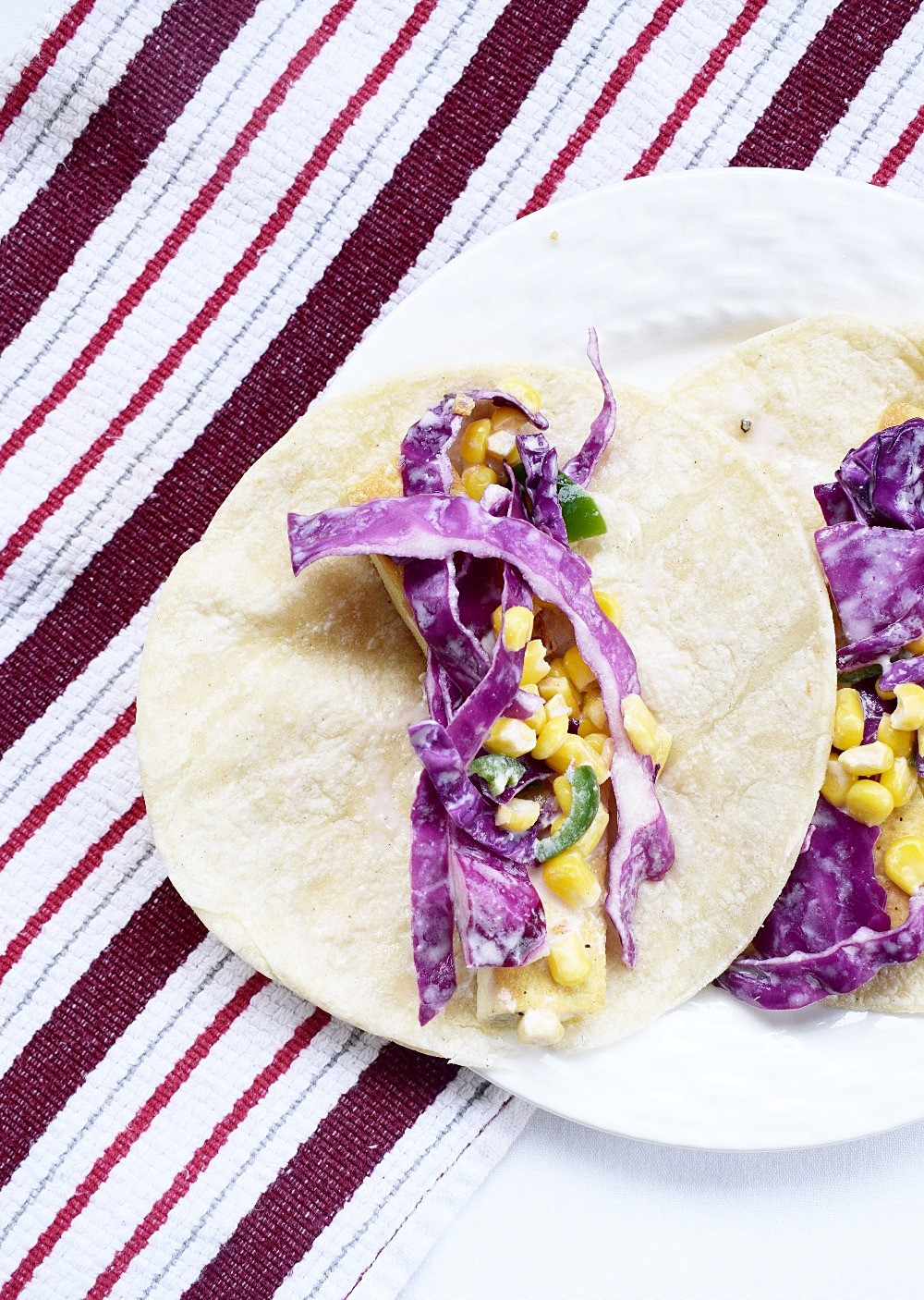 Tofu Tacos with Slaw