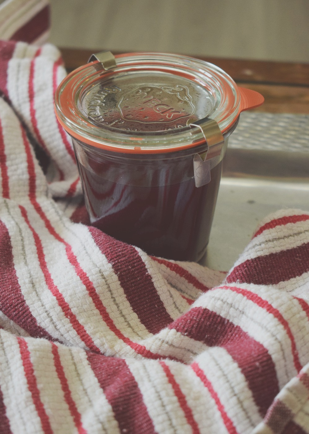 Ice Tea Concentration. Homemade recipe