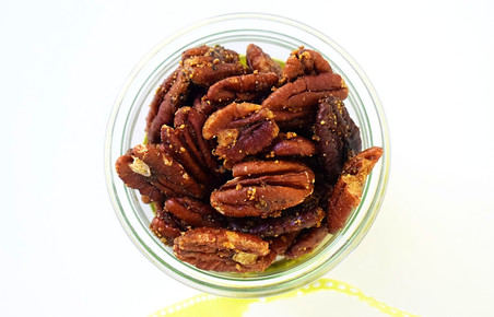 Sweet & Savory Roasted Pecans