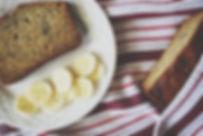 Food photography: banana bread