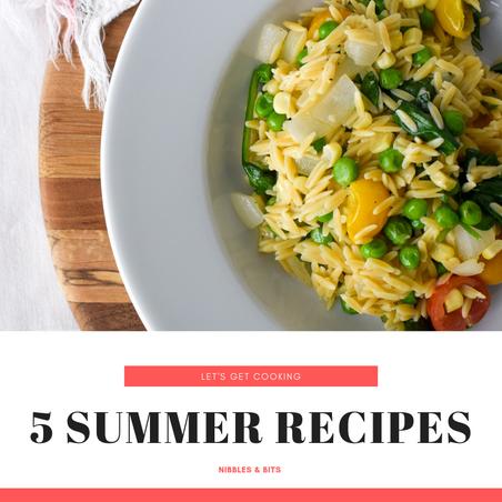 5 Summer Recipes to Enjoy this Summer