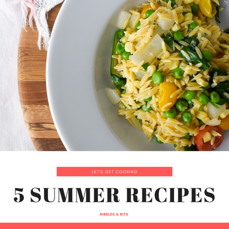 5 Summer Recipes to Enjoy this Summer