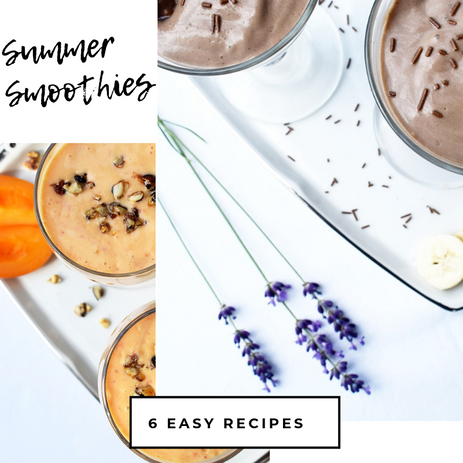 6 Smoothies to Enjoy this Summer!