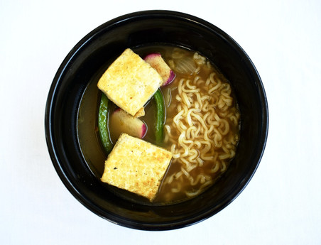 Healthy Vegan Ramen Noodle Soup