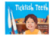 Ticklish Teeth book and brushes