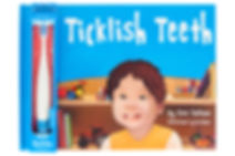 Ticklish Teeth brush and book