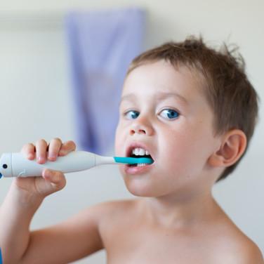 Ticklish Toothbrush