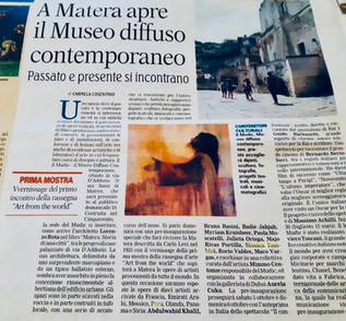 MATERA - ART FROM THE WORLD 2019