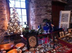 The Blacksmith Shop at Christmas