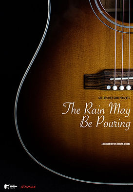 The rain may be pouring