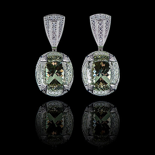 Classic Prasiolite Earrings
