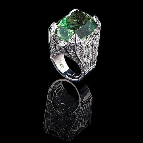 Magnum Prasiolite Ring