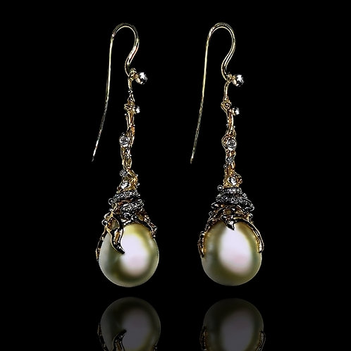 Orient Pearl Drop Earrings