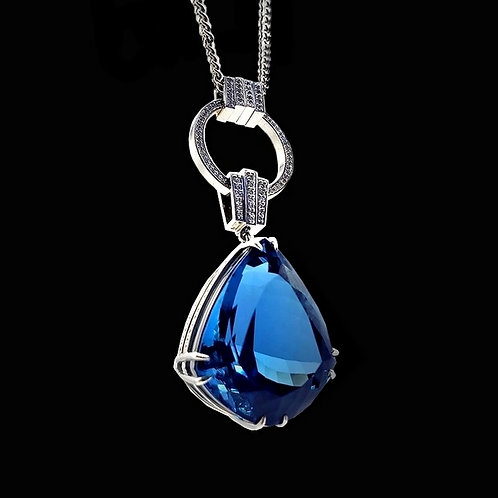 London Blue Classic Pendant