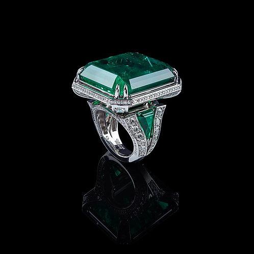 Magnum Emerald Ring