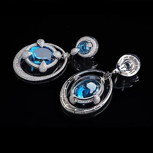 London Blue Gala Earrings