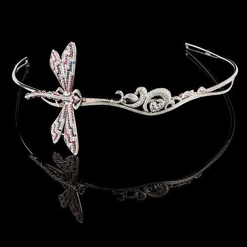 Art Nouveau Dragonfly Diadema