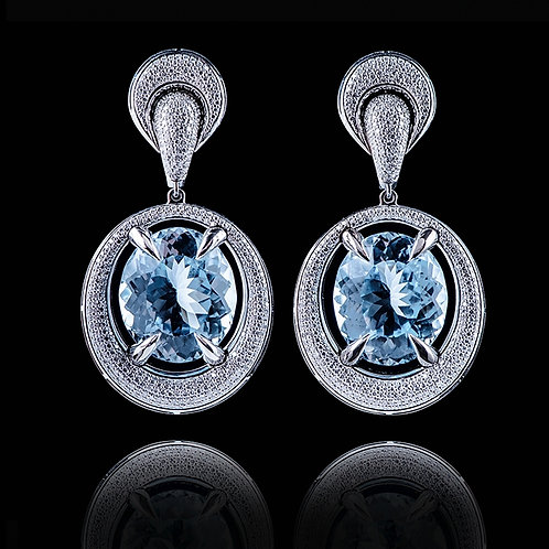 Classic Sky Blue Earrings