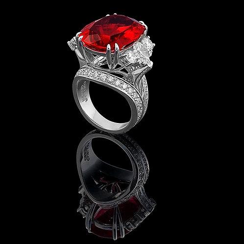 Magnum Ruby Gala Ring