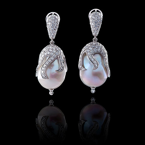 Classic Pearl Drops Earrings