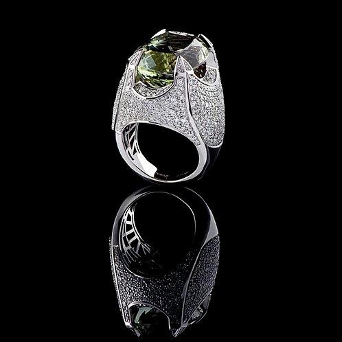 Classic Prasiolite Ring