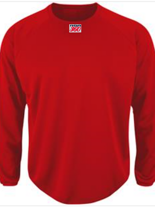 Majestic Youth Home plate Fleece with 360 embroidered