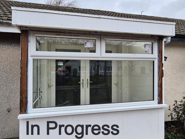 New Porch Window