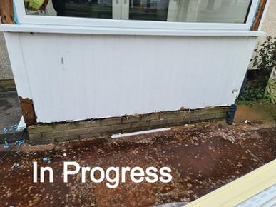 Porch Window and door replacement