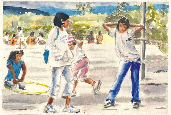 Honduras: Children at Play