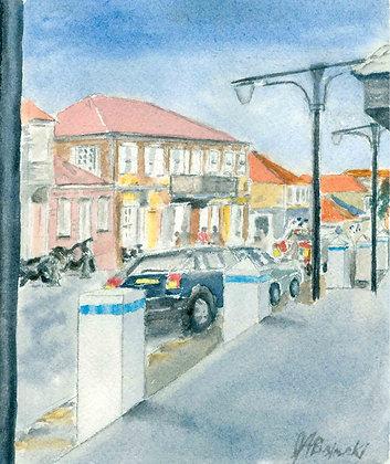 St. Bart's Street Scene #2 (NC 125)