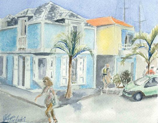 St. Bart's Street Scene #1 (FO 124)