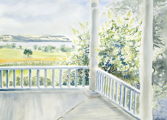View from the Porch (NC 129)
