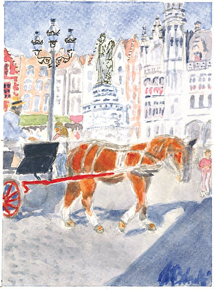 Carriage on the Square (FO 105)