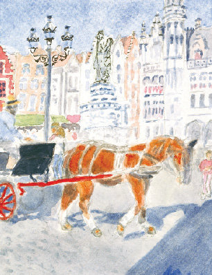 Carriage on the Square (NC 105)