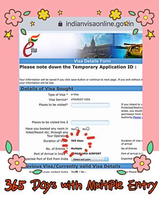 วีซ่าออนไลน์ E-Visa อินเดีย ปรับอายุวีซ่าเป็น 1 ปี และเพิ่มจำนวนการเข้าออกเป็นแบบ Multiple Entry