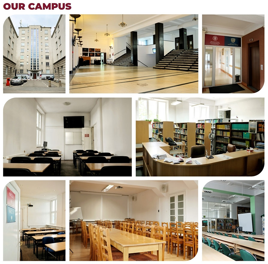 Warsaw University of Business เรียนโปแลนด์ กลางกรุงวอร์ซอ