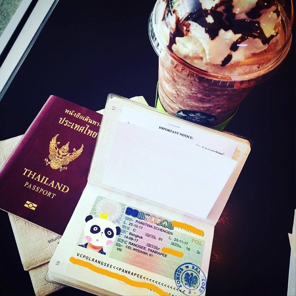 Schengen Visa, Embassy of Poland - Bangkok