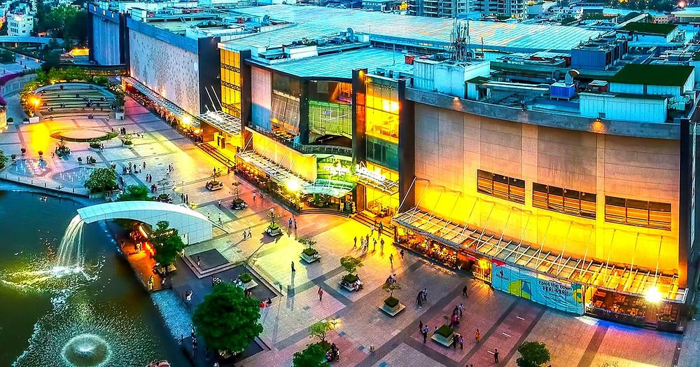 ห้างหรู ห้างที่อินเดีย ห้างที่บังกาลอร์ ห้างสวยที่อินเดีย แหล่งท่องเที่ยว แหล่งเสียเงิน